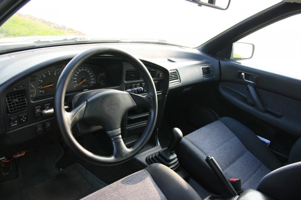 Subaru Legacy Turbo Dashboard
