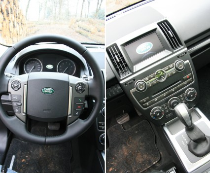 Land Rover Freelander Si4 Dashboard
