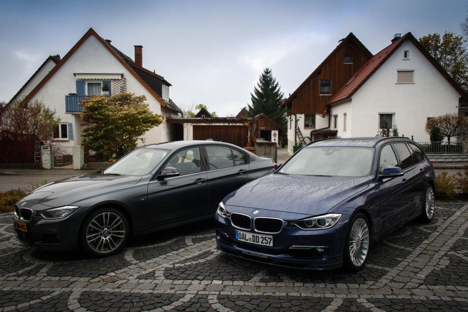 BMW Alpina D3 F31 Biturbo and 335d xDrive