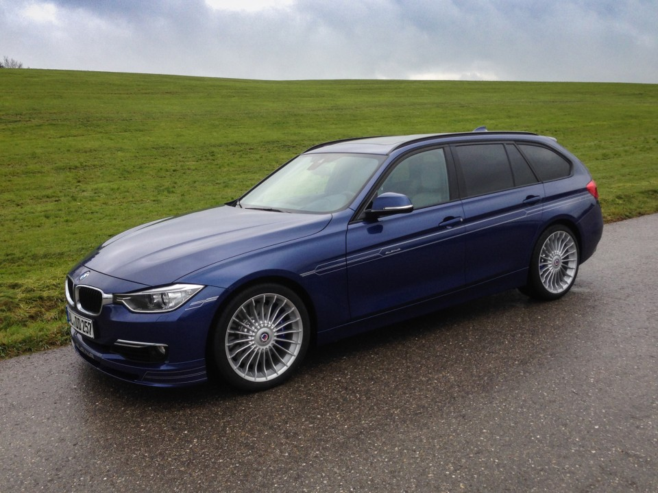 BMW Alpina D3 F31 Biturbo Side