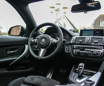 BMW 4-series 435i Coupe Dashboard