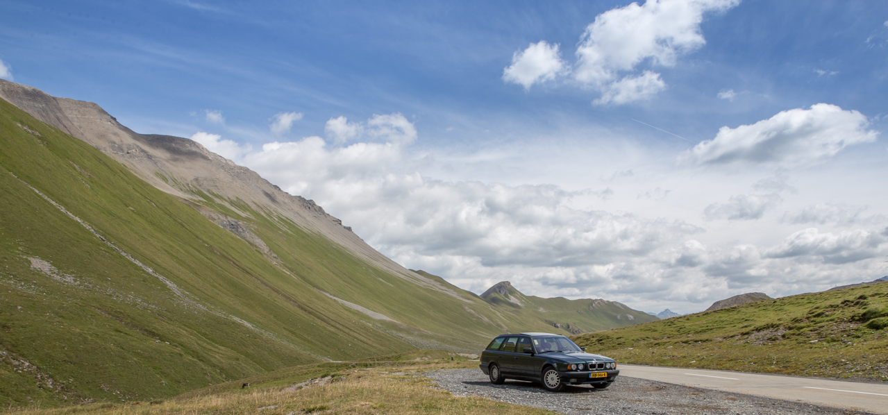 BMW E34 540i Touring Albulapass