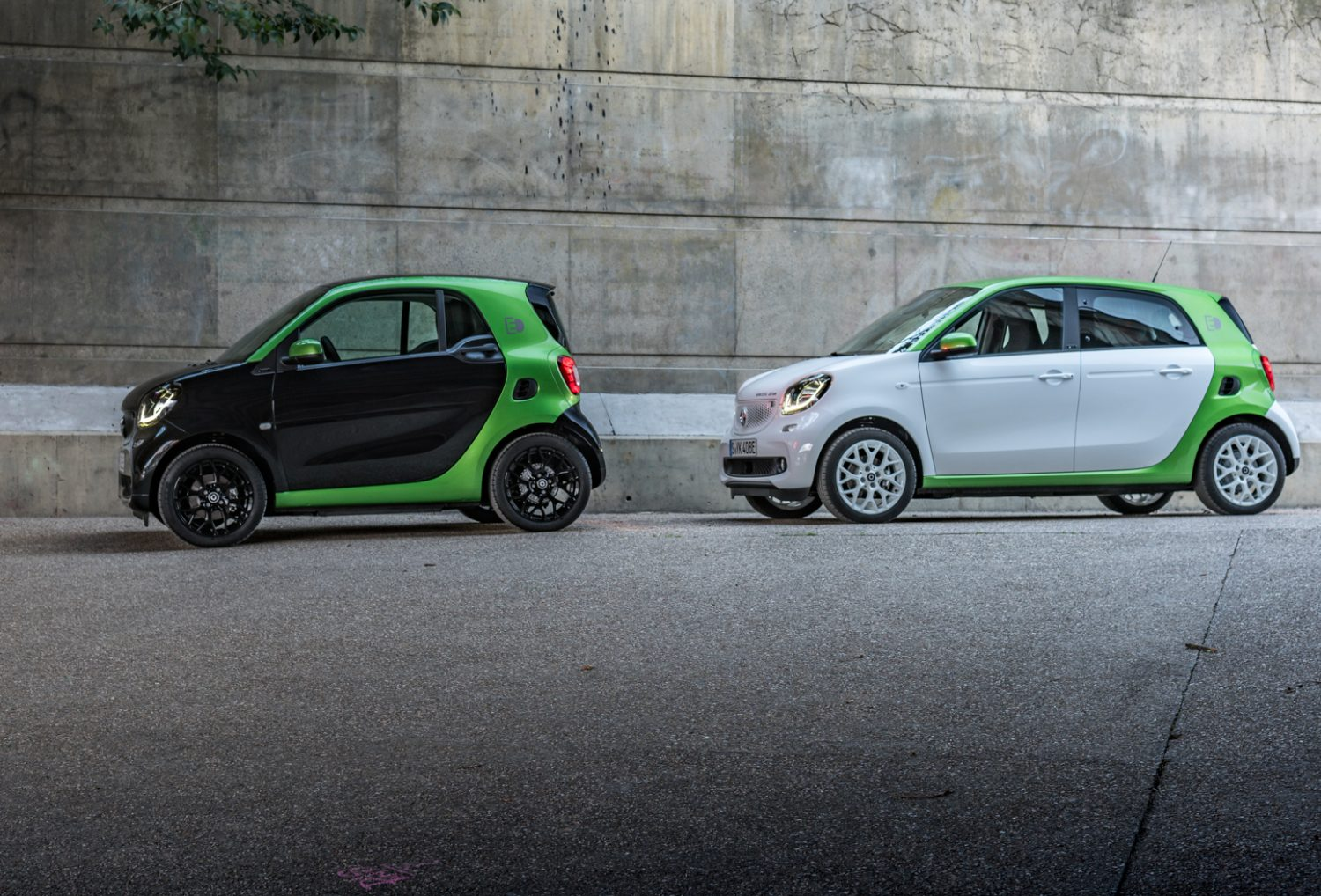 Smart Fortwo Forfour Electric Drive